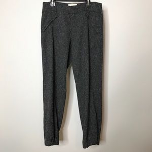 Elevenses Pembroke Speckled Grey Joggers Size 4